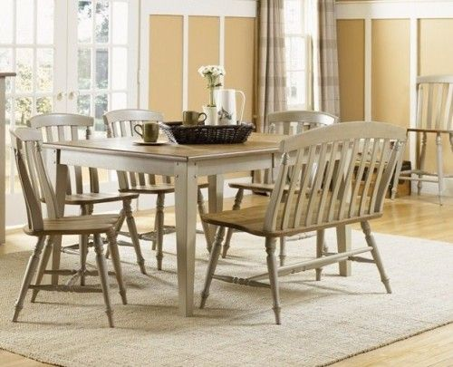 High Quality Primitive Decorated Chairs | Al Fresco Rectangular Dining Room Set By  Liberty