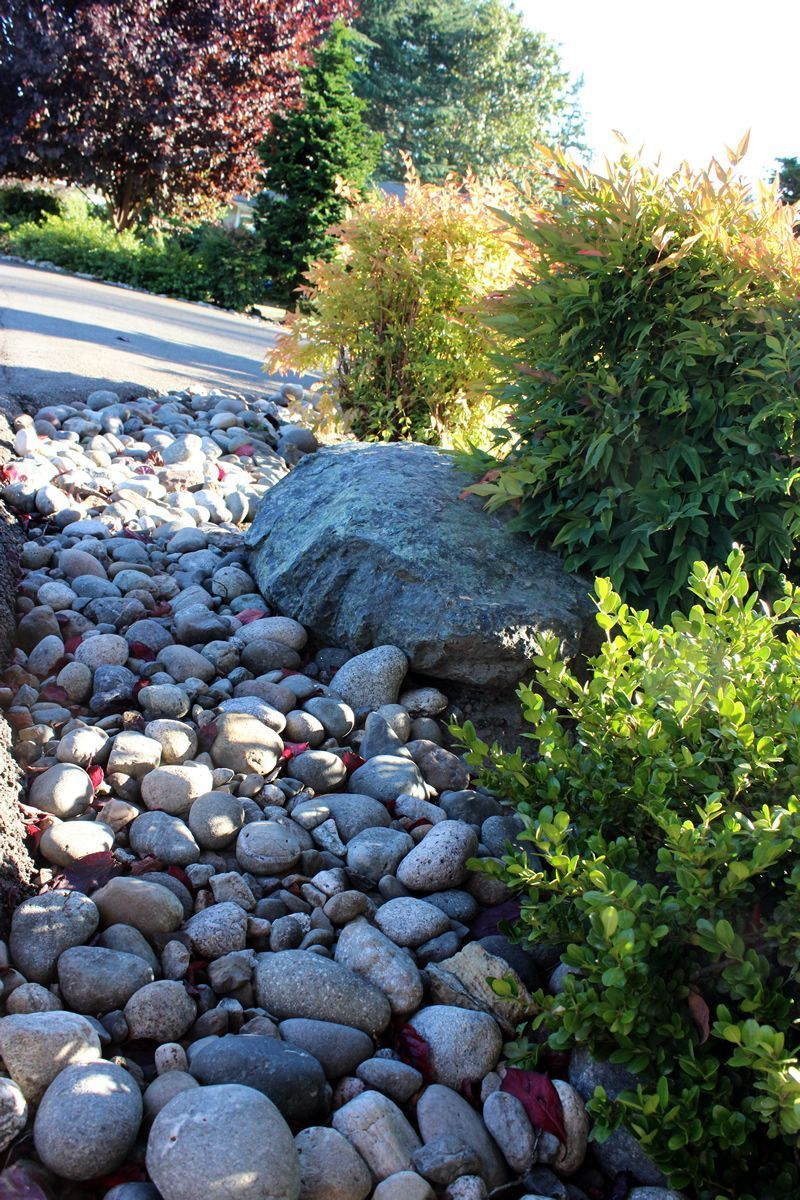You can use many different types of pebbles to surface a