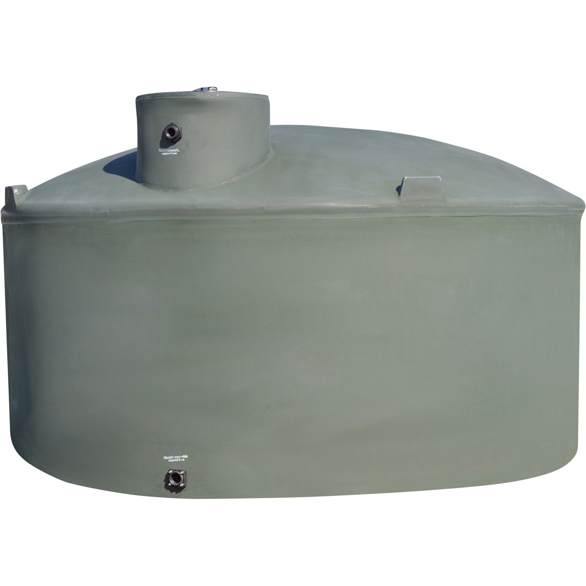 Snyder Industries Vertical Natural Above Ground Water Tanks 1500 Gallon Capacity Dark Green Model 1770300w99803 Rain Water Collection System Rain Water Collection Aquaponics Diy