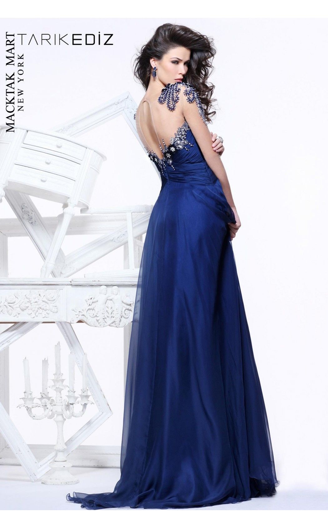 Sweetheart gown with illusion sleeves by tarik ediz watch your