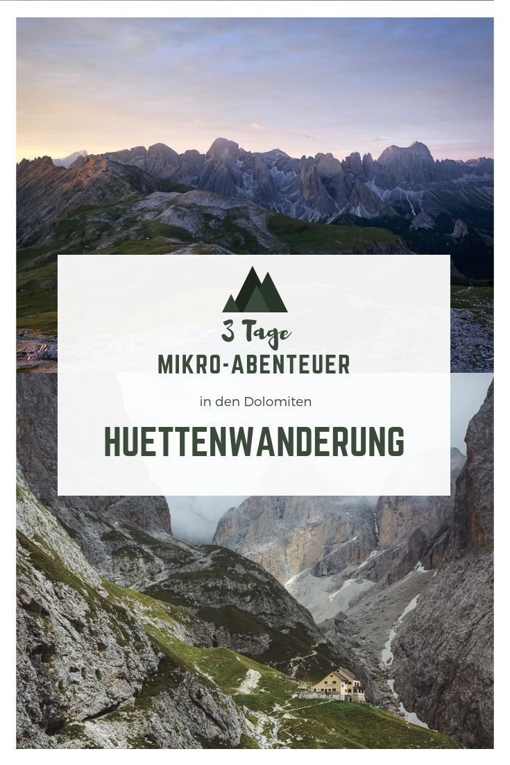 Photo of Micro-adventure: hut hike in the Dolomites – fair en route