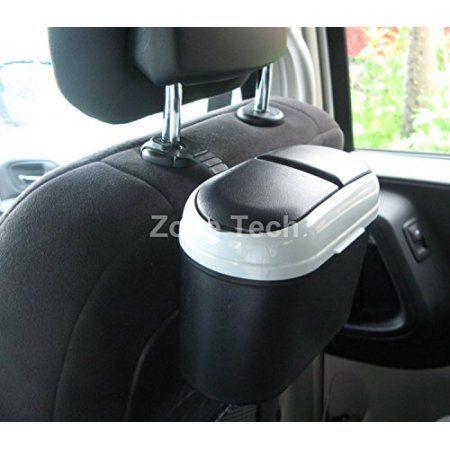 Car Interior Accessories Trash Bag Holder Rack Black Rubbish Frame Plastic
