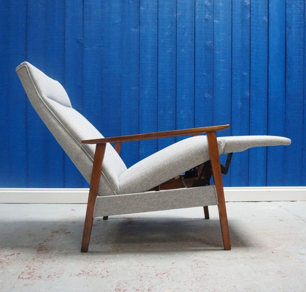 Tremendous Mid Century Recliner Armchair From 1960S Vintage Design Short Links Chair Design For Home Short Linksinfo
