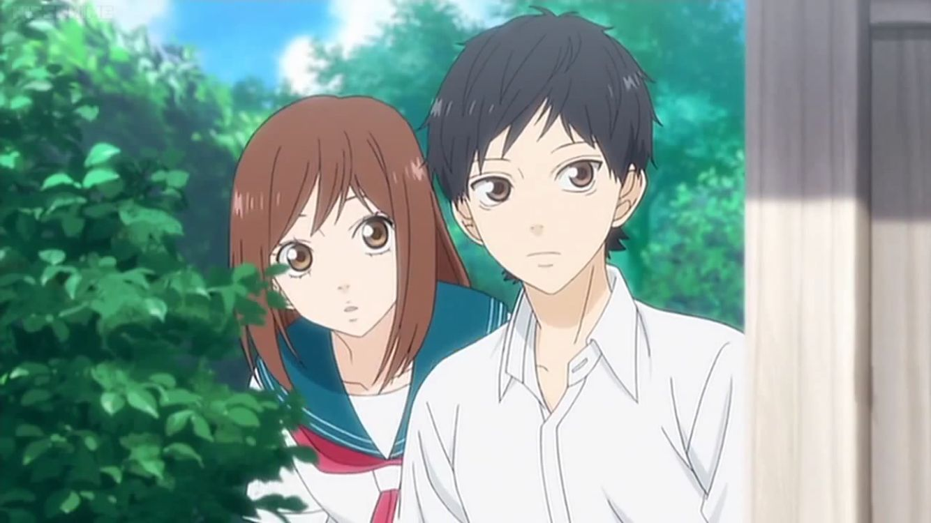 Ao Haru Ride (Blue Spring Ride) | Beijo anime, Anime, Wallpaper