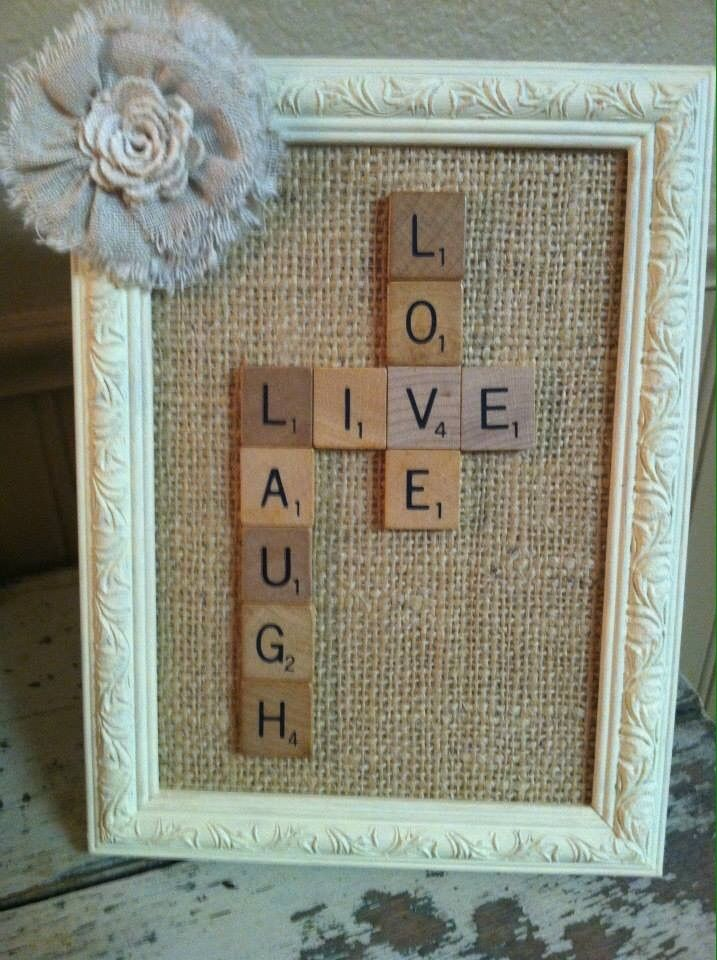 19+ Scrabble tile crafts ideas information