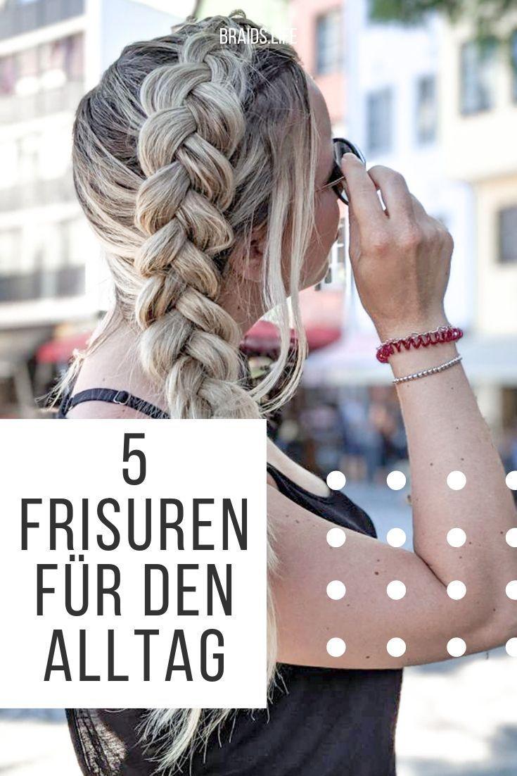 5 ganz einfache frisuren für den alltag, #alltag #den #