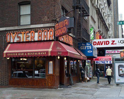 Oyster Bar Best Seafood Restaurants New York Fish Chips Takeaway Newyork
