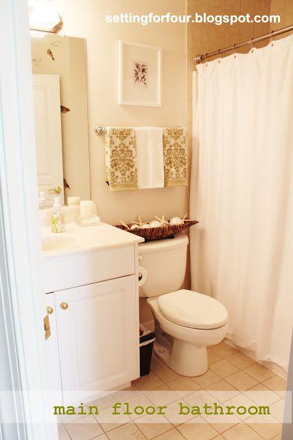 Main Floor Bathroom Makeover