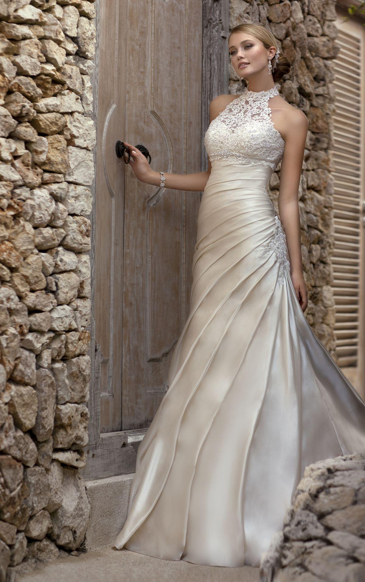 Slim fit wedding dresses  Designer Wedding Dresses  Stella york Wedding dress and Weddings