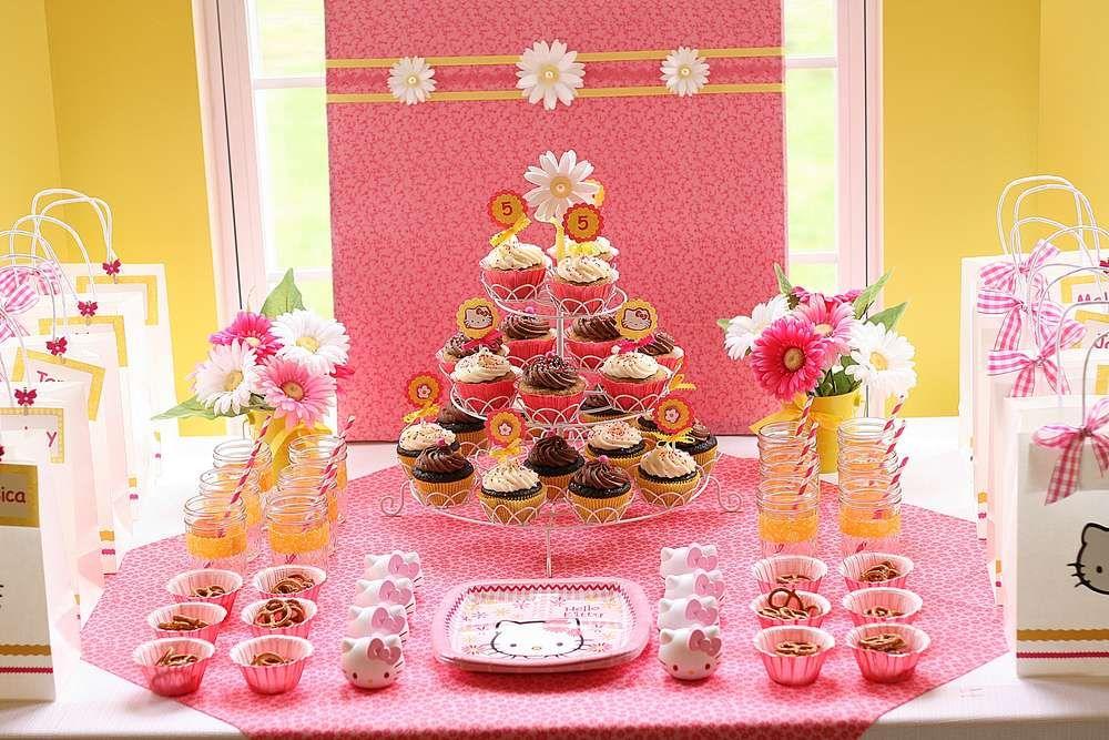 Hello Kitty Birthday Party Ideas Photo 5 Of 11 Catch My Party