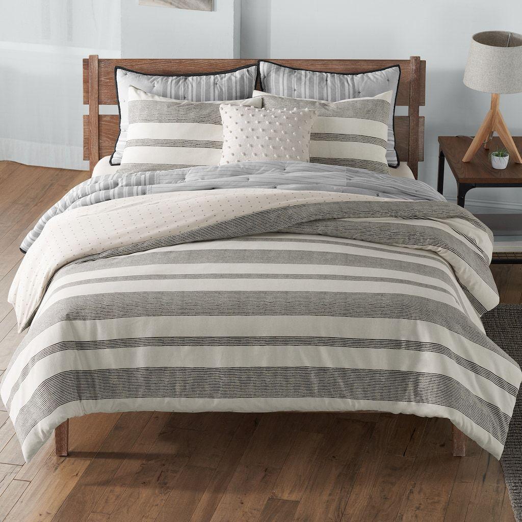 SONOMA Goods for Life® Farmhouse Stripe Comforter and Sham
