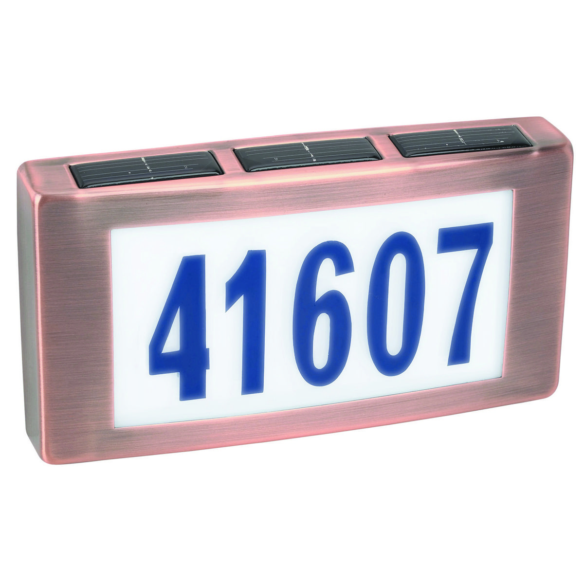 Solar House Address Number Plaque House Address Numbers Solar House Solar Led Lights