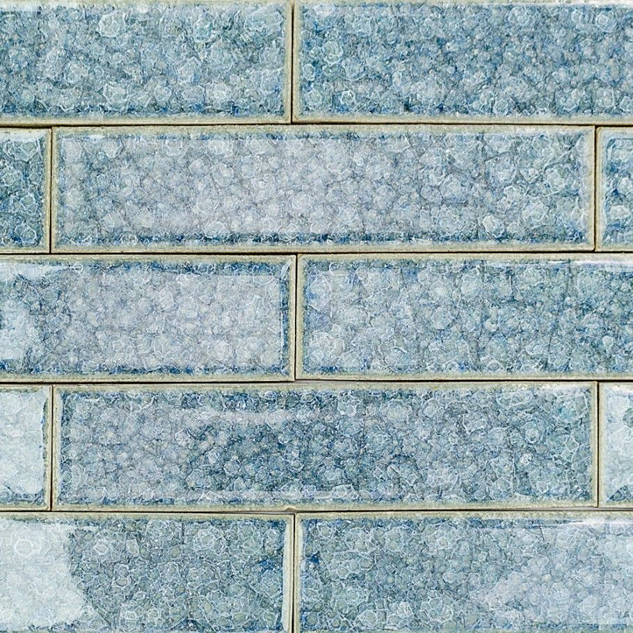 Roman Brisk Blue 2x8 Glass Tile | Roman, Glass collection and Glass