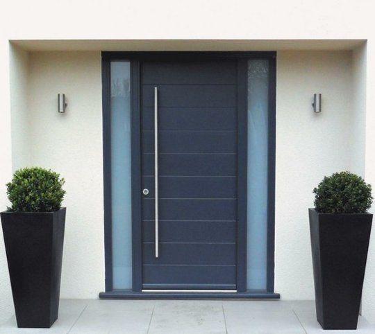 Curb Appeal: Modern Front Doors | Front doors, Doors and Modern