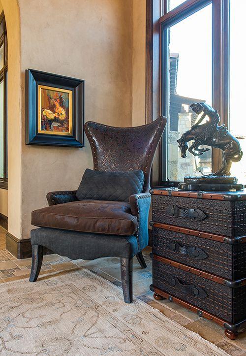 wonderful western living room furniture | The Arrangement Dallas Home Makeover #InteriorDesign # ...
