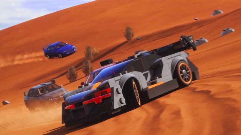 Forza Horizon 4 Gets A Lego Speed Champions Expansion Pack With