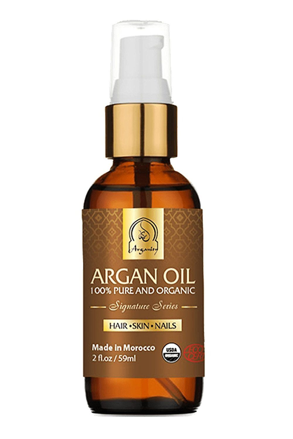 Certified Organic Argan Oil - 2 Fluid Ounces. -- You can get more details here : Body Care