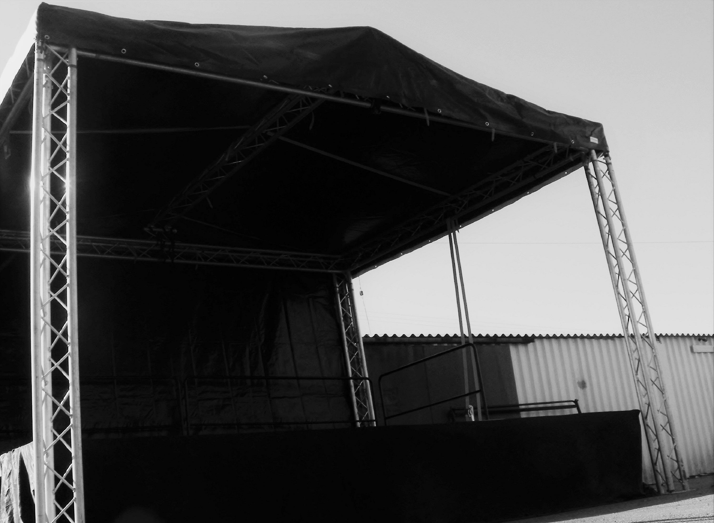 Outdoor Stage hire