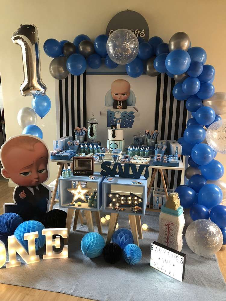 Baby Boss Birthday Party Ideas (With images) Baby
