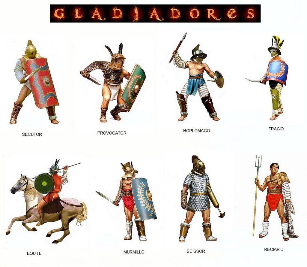 Gladiadores em Roma, caçadores de monstros D7b02c4c15e1be9b0bbae1af1bd2805a
