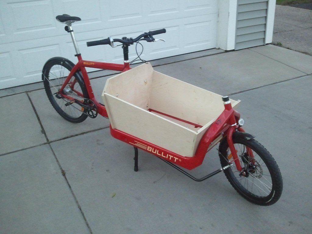 Bullitt Box Bike Build Imgur Bike Cargo Bike Bicycle