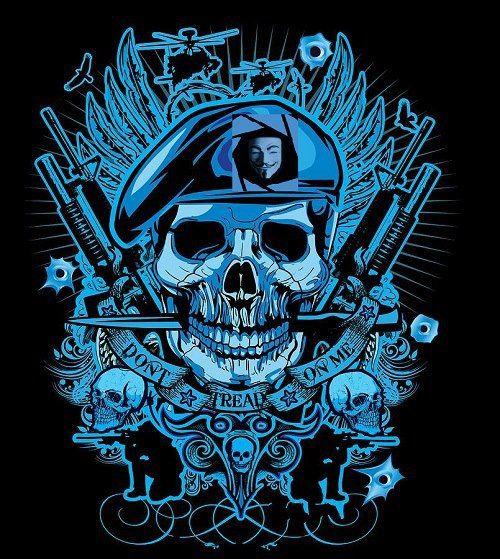 Don T Tread On Me Anonymous Art Of Revolution Skull Art Art Drawing Artwork