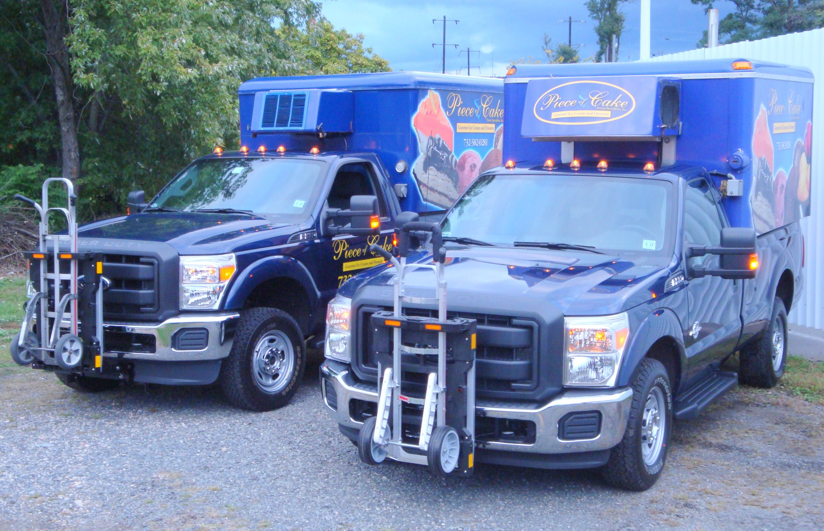 Hts Systems Hts 10t Ultra Rack Units On Ford F350 Pick Up Trucks Piece Of Cake Frozen Specialties Has Been A Happy Hts Cus Trucks Hand Trucks Truck Transport