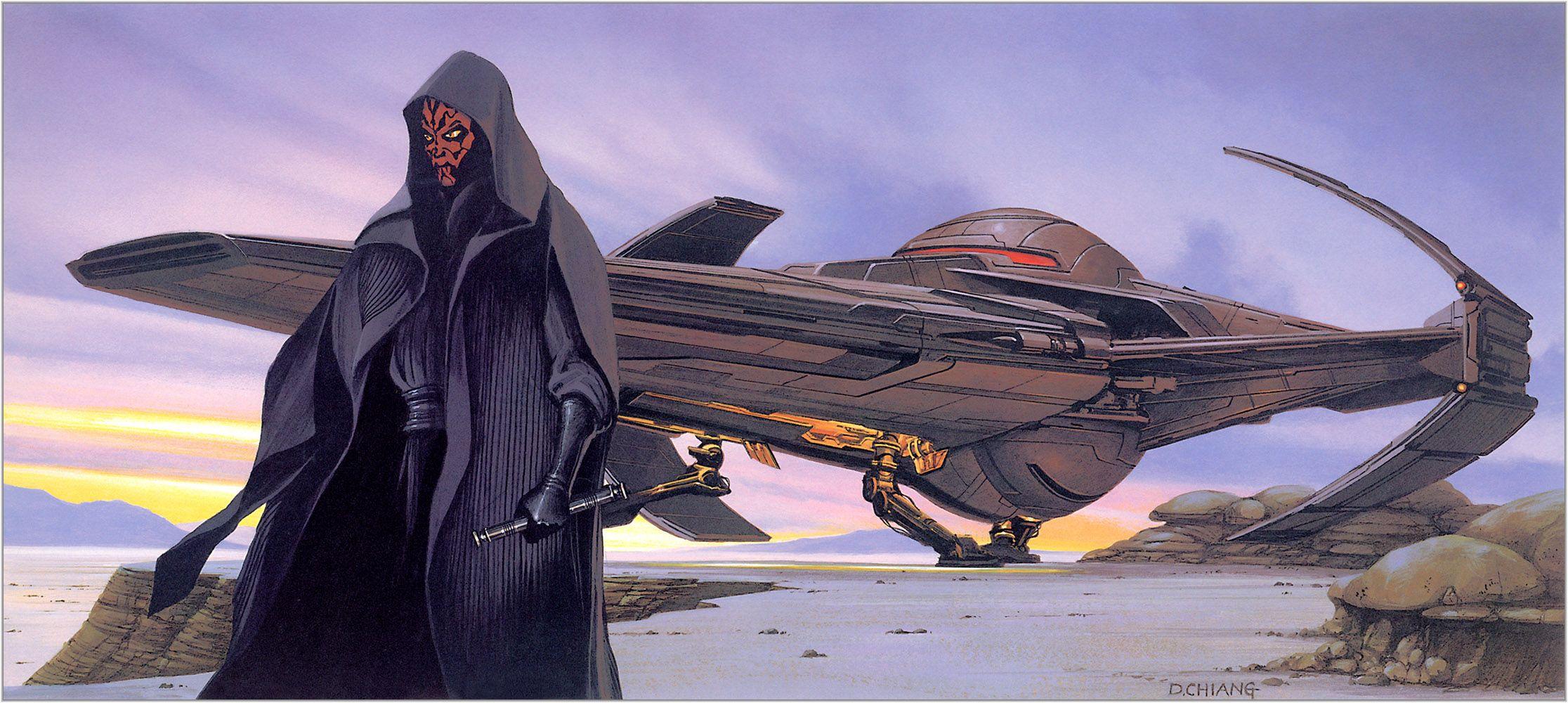 Doug Chiang - SW The Phantom Menace concept art