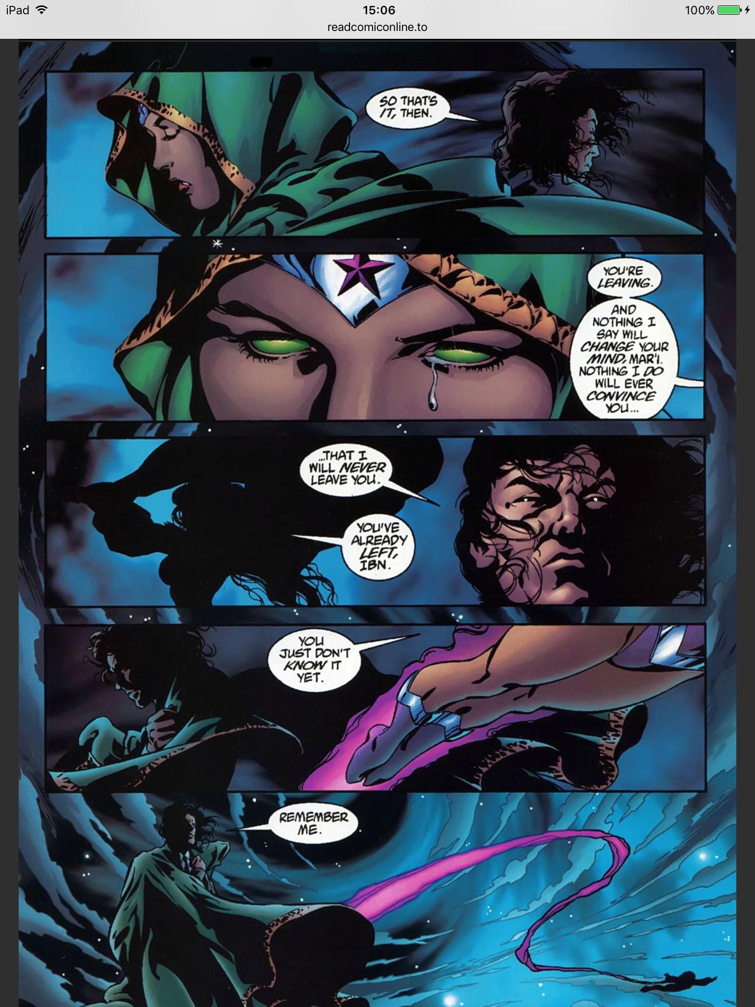 Damian Wayne And Nightstar Kingdom: Nightstar Ibn...