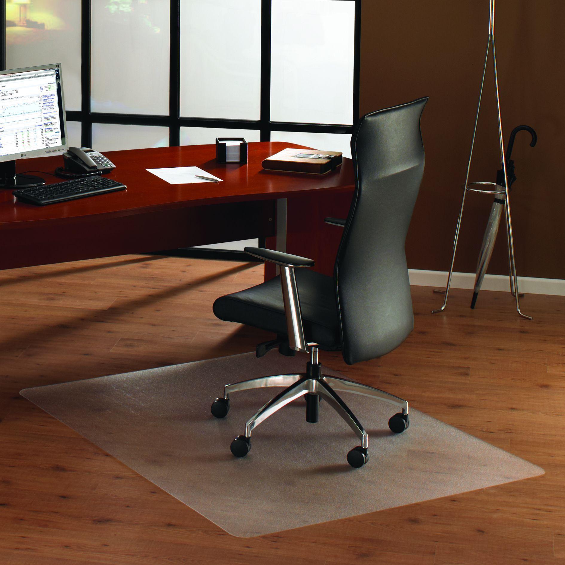 Cleartex® Unomat AntiSlip Rectangular Chair Mat Hard