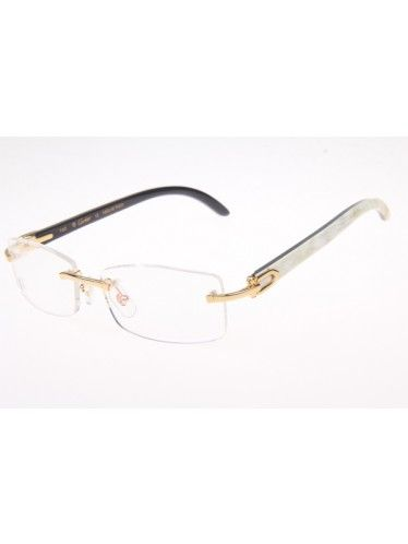 f989d7d14d7 white buffalo horn cartier glasses