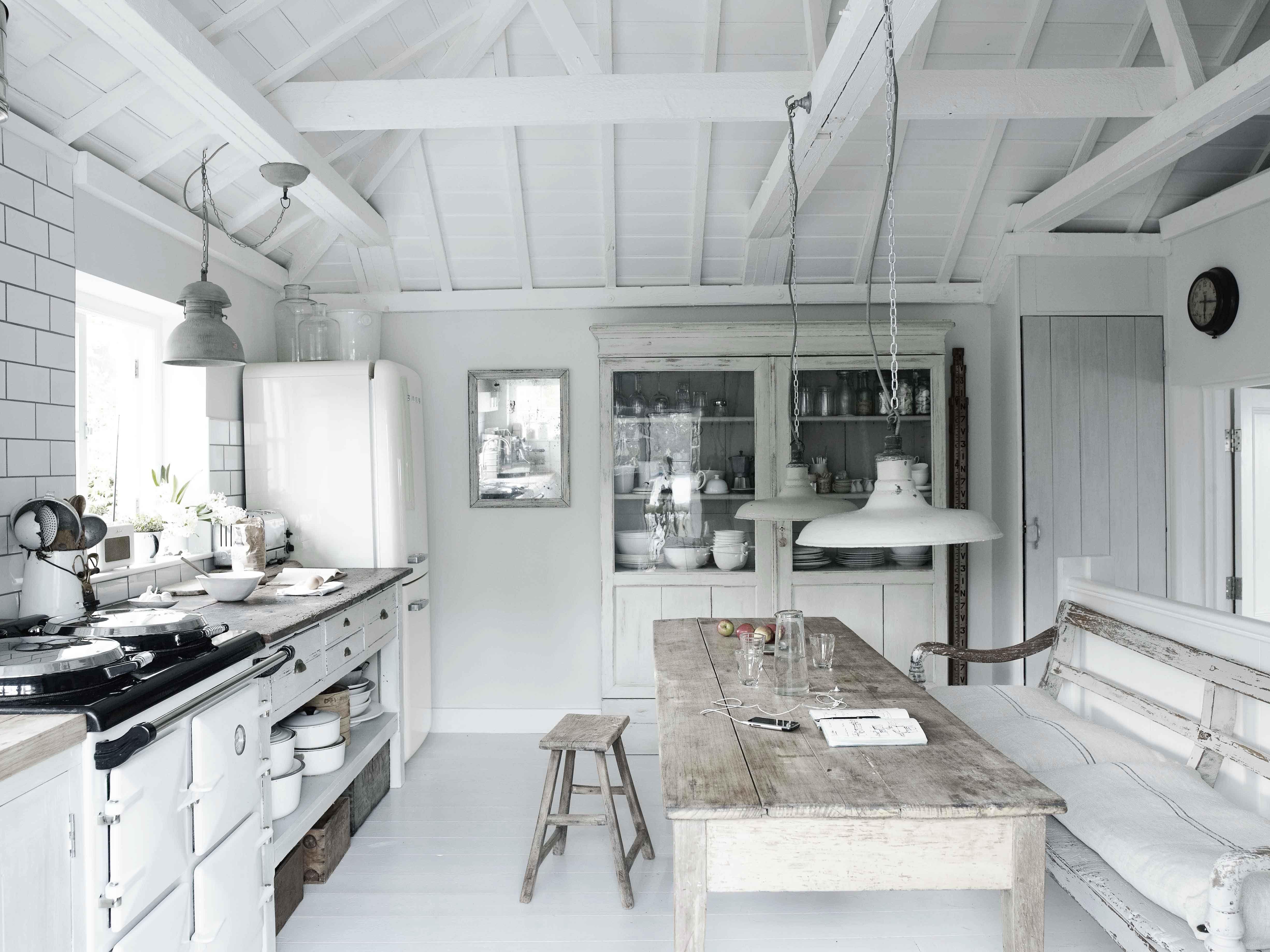 un #loft shabby-chic in cornovaglia #mansarda | vivere la mansarda, Wohnideen design