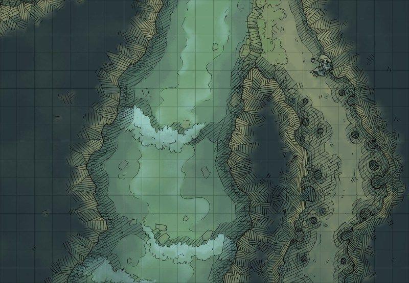 Image Result For Cavern Narrow Ledge Path Fantasy Art