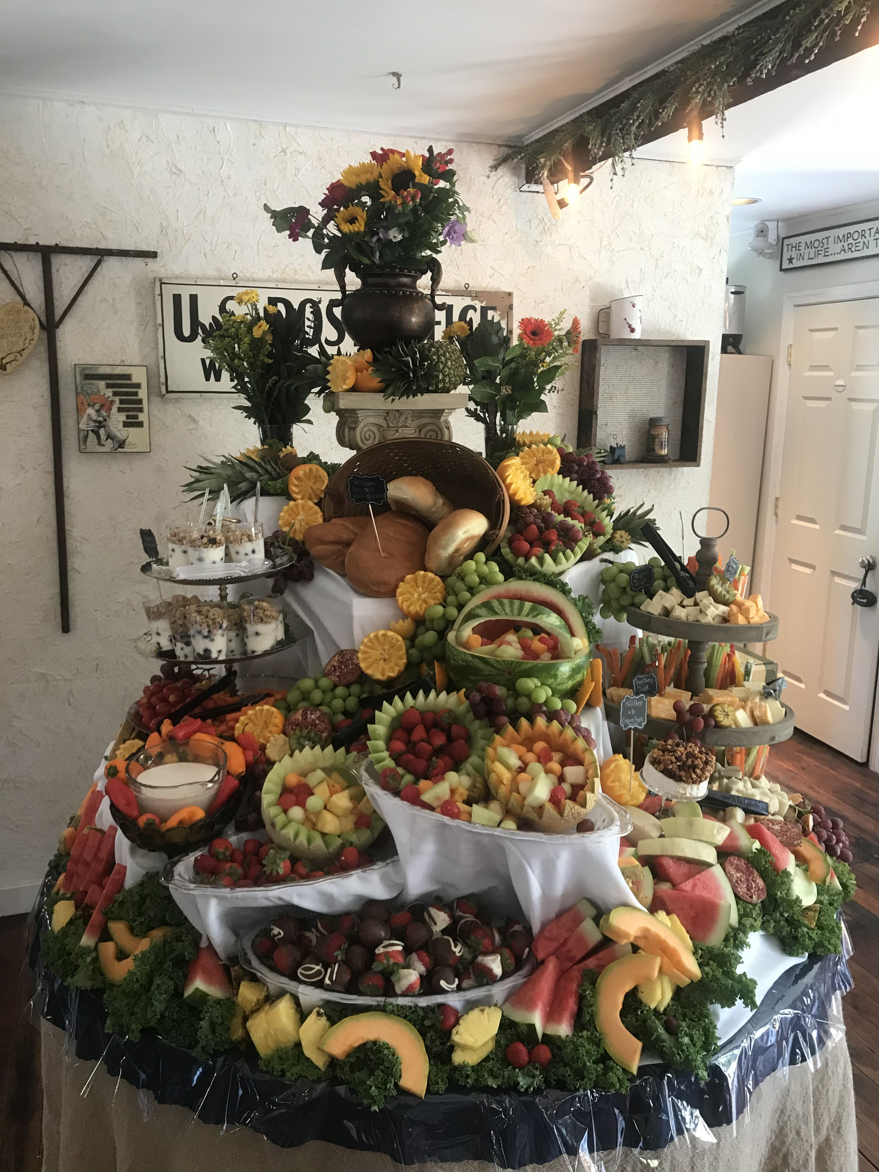 Pin by Daniel Whittington on Catering Food displays