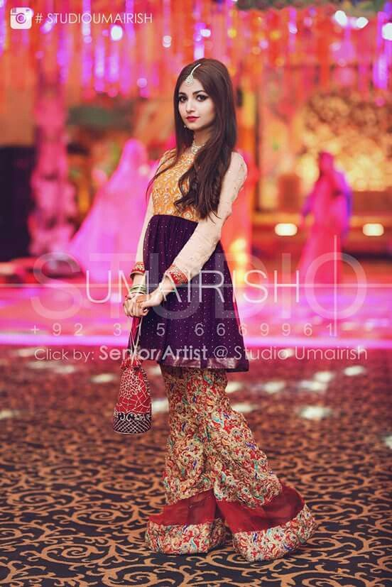 Pin by Asma 🌹❤ on Mehndi dresses collection   Pinterest ...