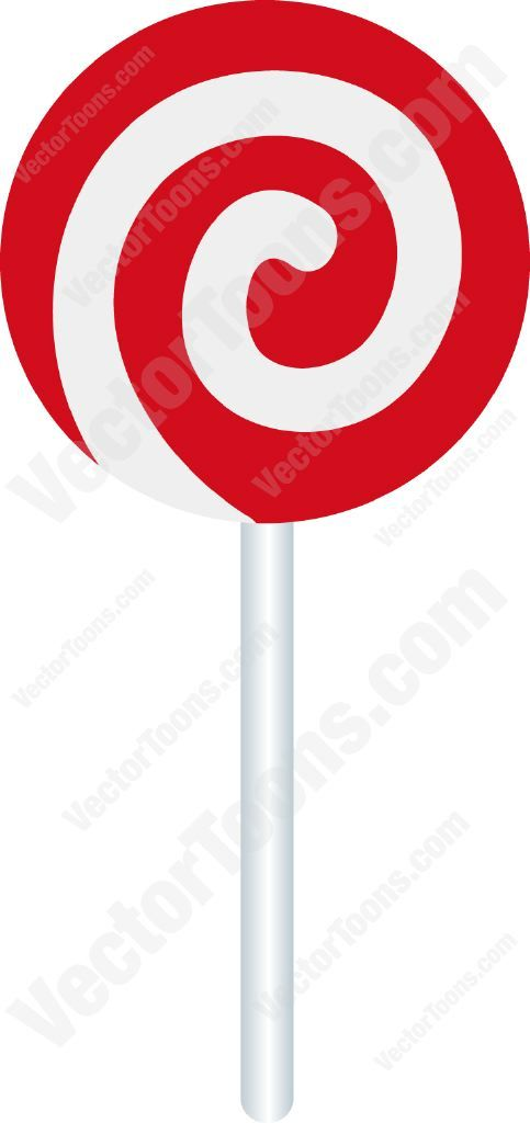 Red And White Swirled Lollipop #candy #lollipop #red #