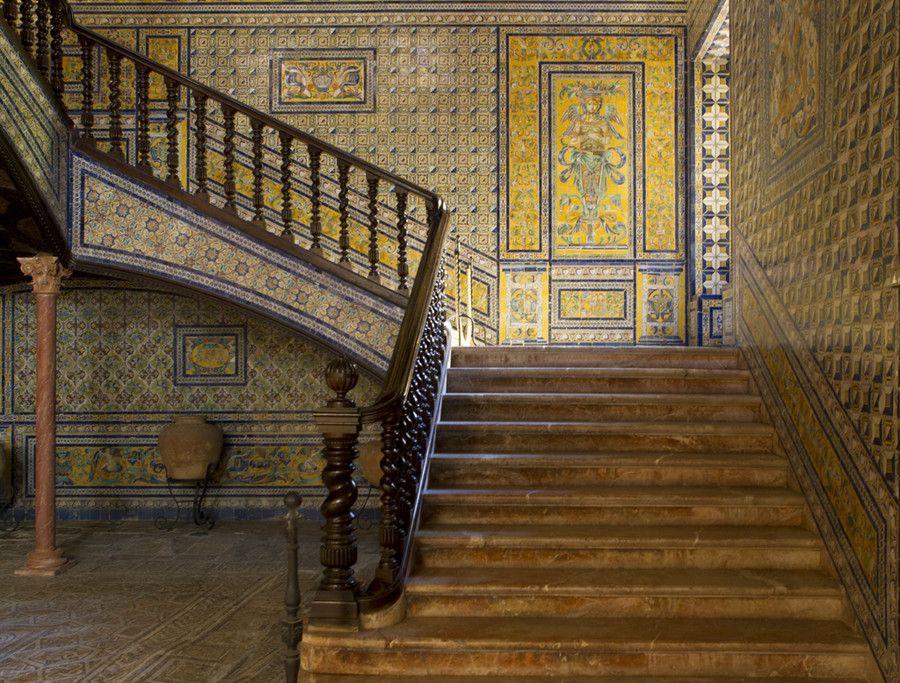 Condesa de Lebrija's Palace in Seville, Spain