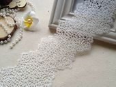 Photo of White Venice Hollow Out Lace Trim Crochet Lace For S …