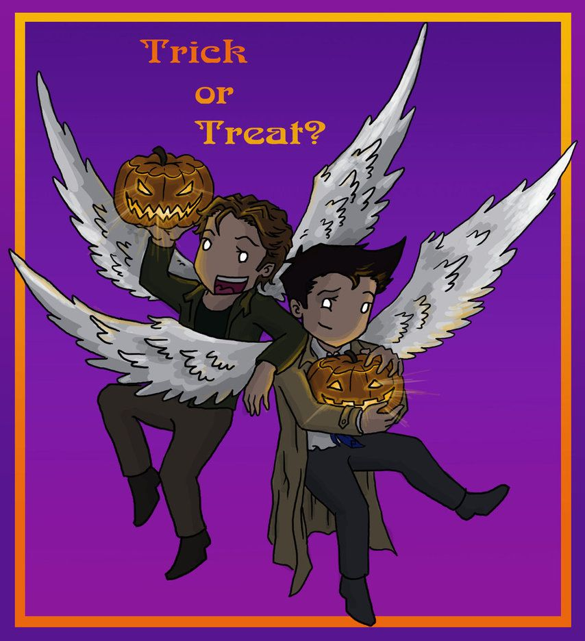 Trick, or Treat? by liminalbean on DeviantArt