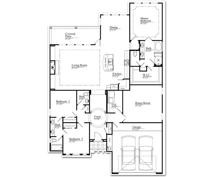 The Eva | Veloz Homes This floor plan is the front-runner right now for our future home.