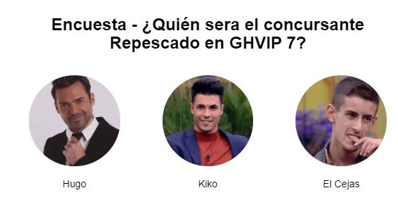 Kiko Hugo Y El Cejas Candidatos A La Repesca De Ghvip 7 Cejas Hermanas Te Para Tres