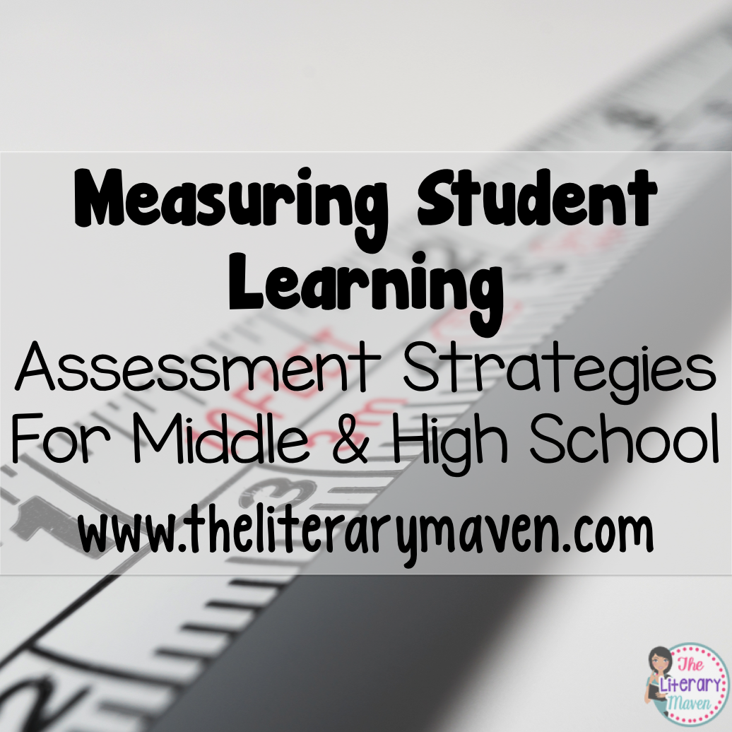 Measuring Student Learning Assessment Strategies For Middle