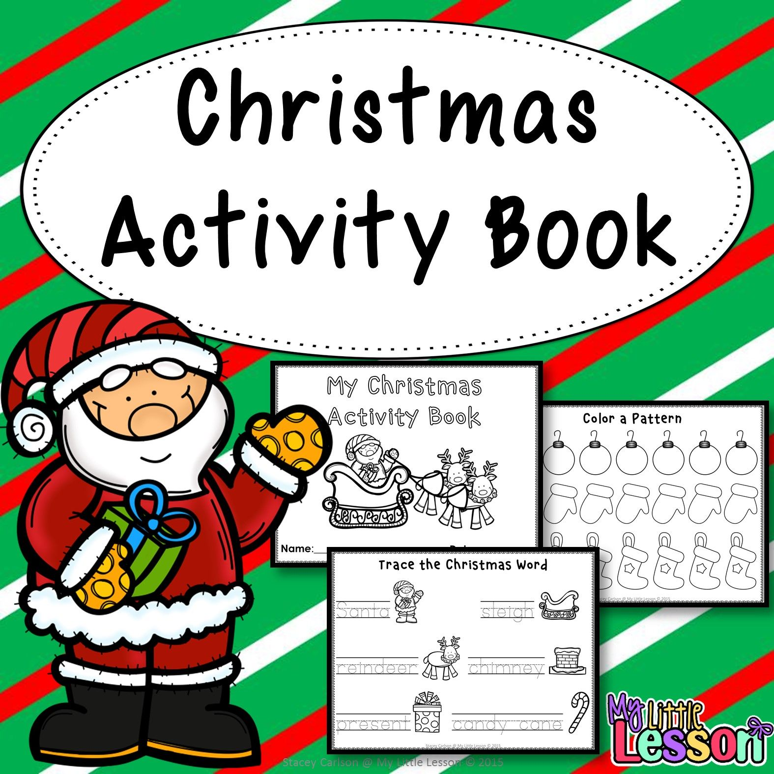 Christmas Worksheets Math And English
