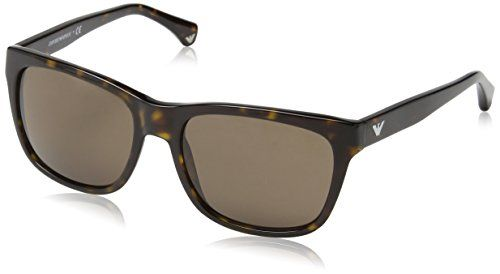 6149bb4d71d Amazon.com  Emporio Armani 0EA4041 502673 Havana 4041 Wayfarer Sunglasses  Lens Category 3 S  Emporio Armani  Shoes