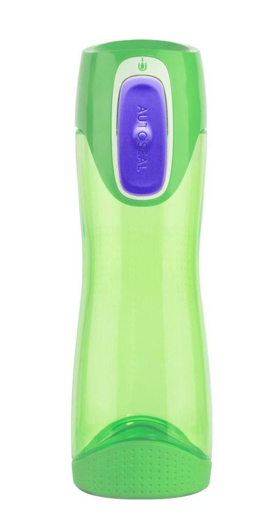 Contigo New Swish pullo, vihreä    Contigo Swish juomapullo on valmistettu iskunkestävästä Tritan-muovista, joka ei sisällä Bisfenoli-A:ta. Muovisen juomapullon voi pestä astianpesukoneen yläosassa.. Pullo on suunniteltu siten, että siitä saa tukevan otteen. Pullossa on myös liukumaton pohja.    Juomapullon tilavuus on 500 ml