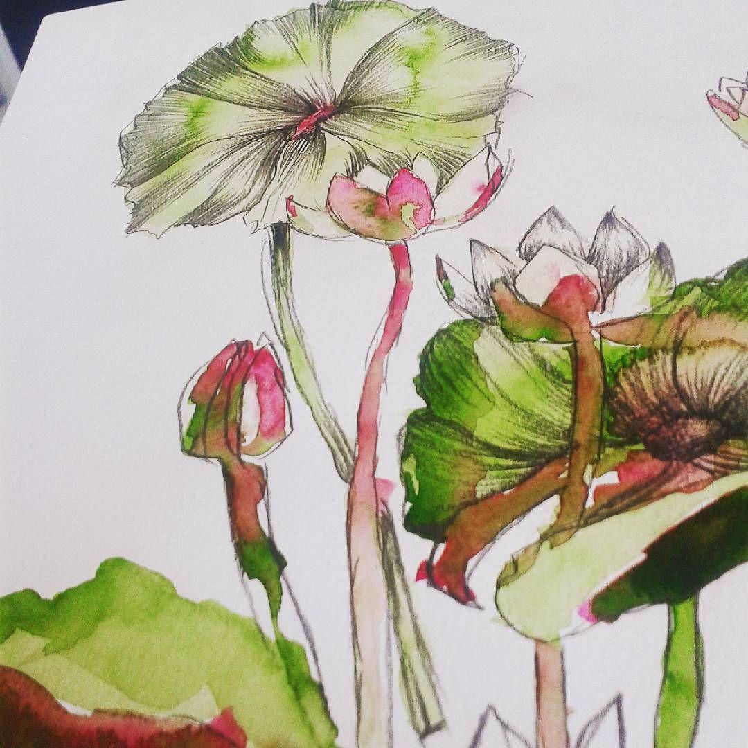 #estampa #surfacedesign #draw #colors #watercolor #pattern #print #brazil #brasil #lovemyjob #ilustração #illustration #sketche #colorful #love #melhortrabalhodomundo #maxiprint #trend #flower #handmade #design #printdesign #letsworkhard #feitoamao #inspiration #inspiracao #love #detail #vangoghwatercolors #aquarela