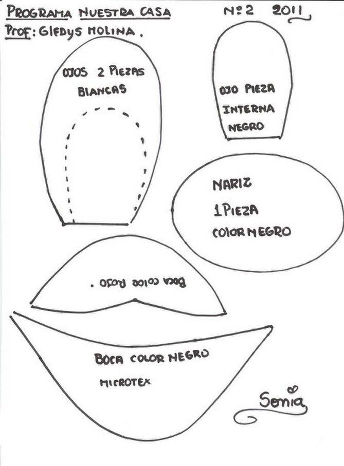 Cojin minnie mouse | MUÑECOS DE TELA CON MOLDES | Pinterest | Molde ...