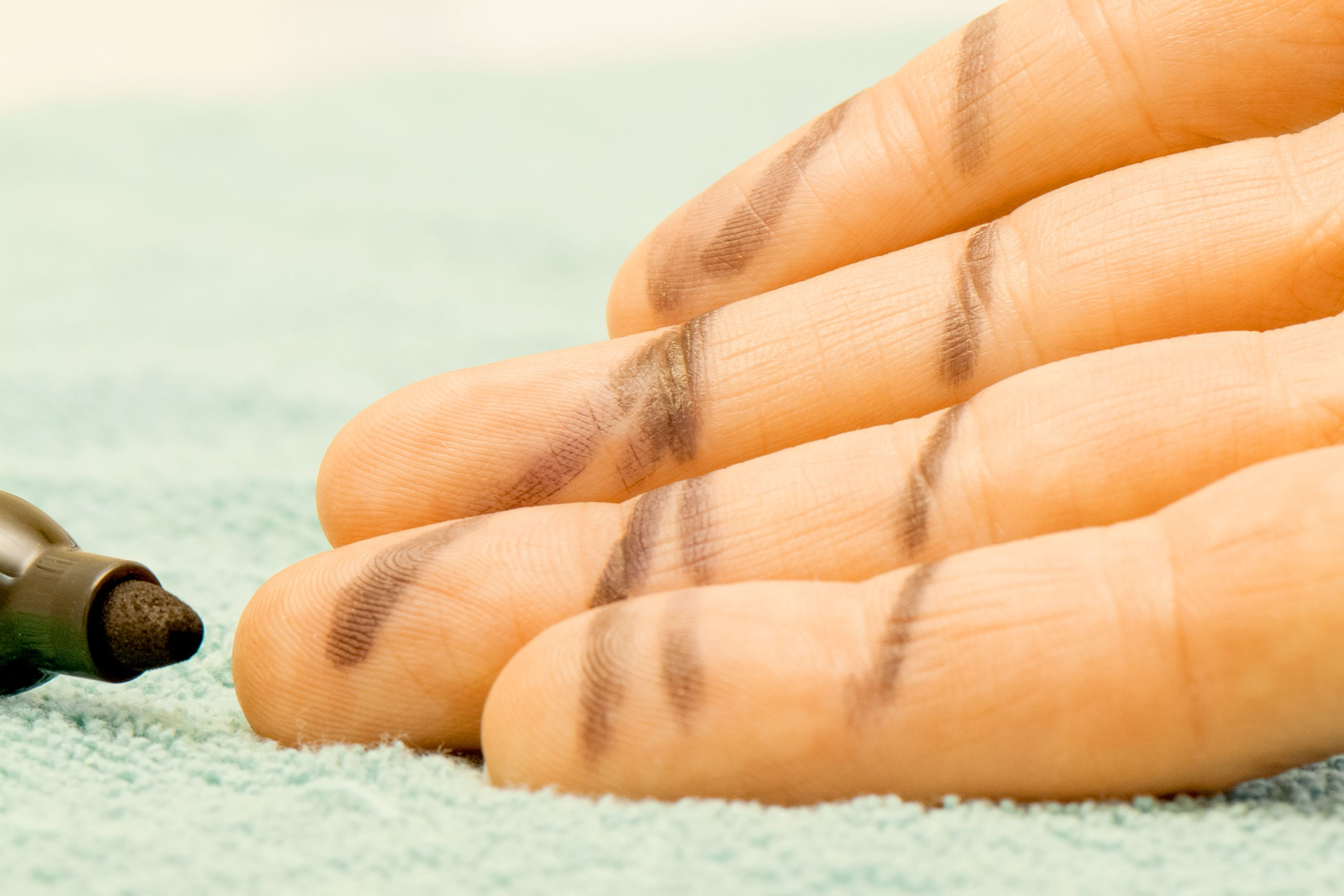 How To Get Permanent Marker Off Of Skin Permanent Marker Markers Skin