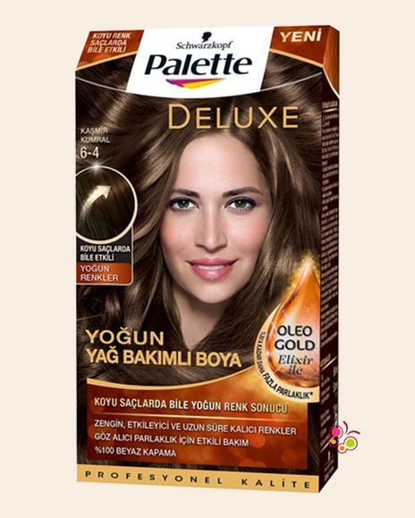 Palette Set Sac Boyasi 6 4 Kasmir Kumral Sac Sac Boyasi Yeni Sac