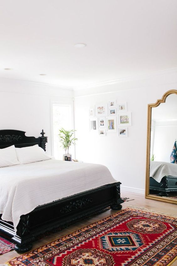 A Touch Of Global Bohemian Style In A Master Bedroom
